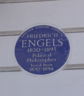 122 REGENTS PARK ROAD, HOME TO FRIEDRICH ENGELS AND LIZZIE BURNS