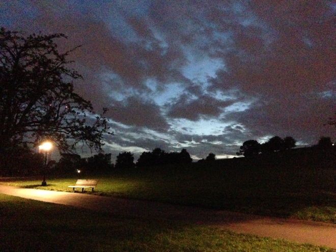 Empty Bench. ©2013 iLovePrimroseHill.com, all rights reserved.