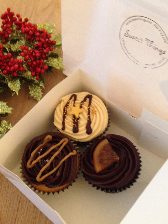 CUPCAKES FROM SWEET THINGS CAKERY, REGENT'S PARK ROAD.   © 2013 iLovePrimroseHill.com, all rights reserved.