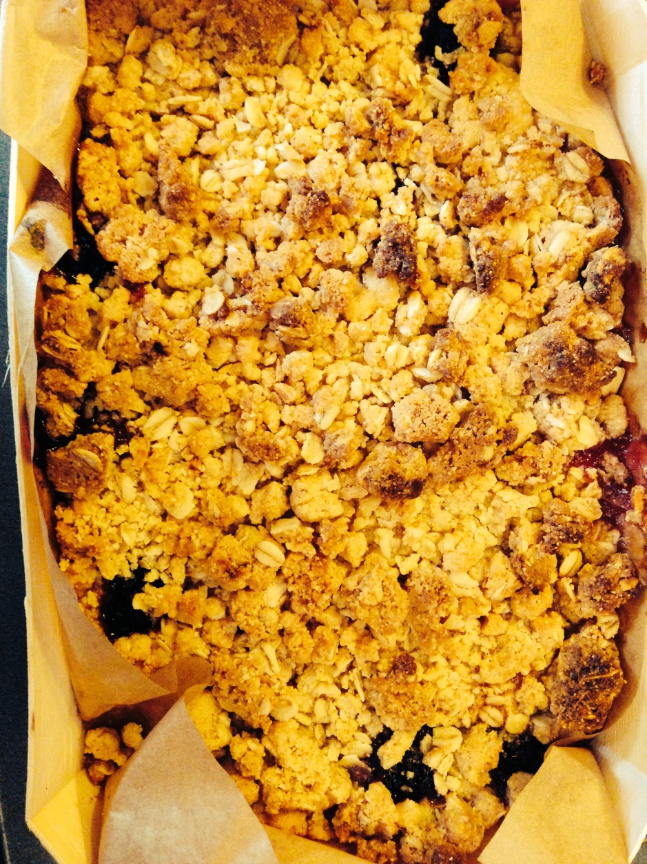 Crumble form Melrose and Morgan.   © 2013 iLovePrimroseHill.com, all rights reserved.