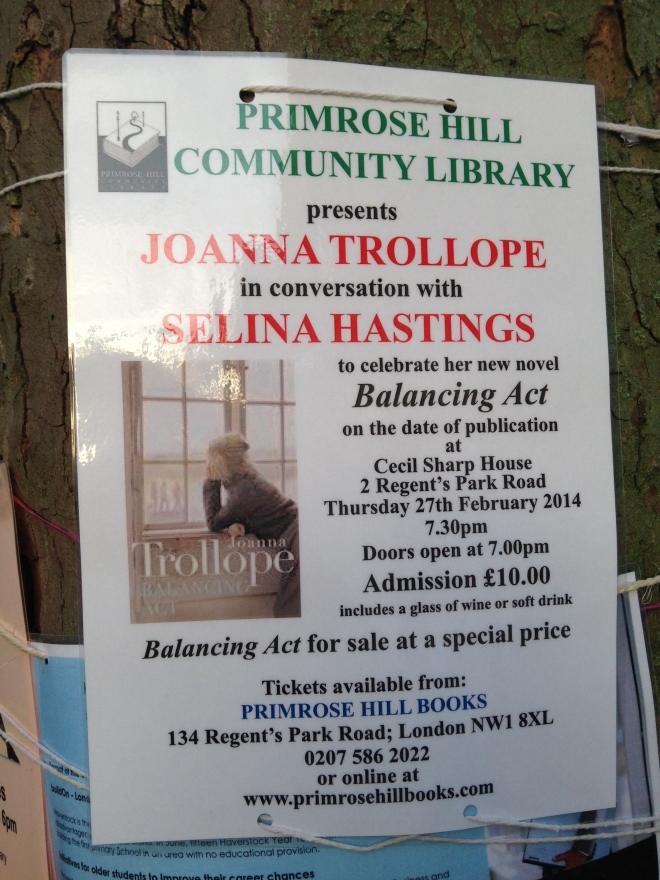 THURSDAY 27 FEB, JOANNA TROLLOPE IN CONVERSATION