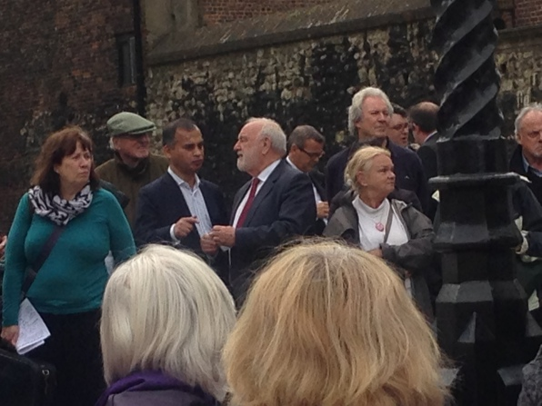 FRANK DOBSON MP AND MURAD QURESHI OF THE LONDON ASSEMBLY