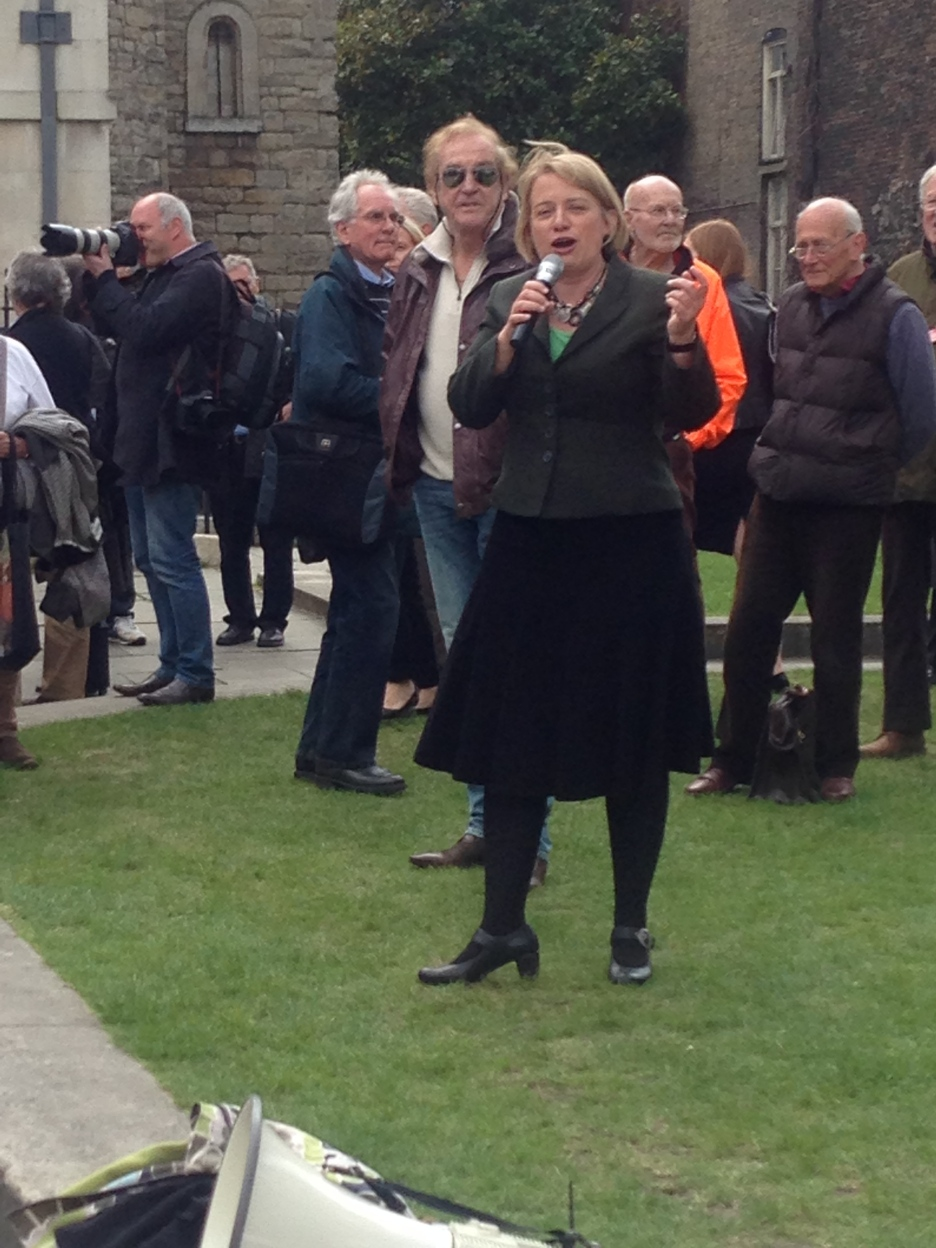 NATALIE BENNETT, GREEN PARTY LEADER