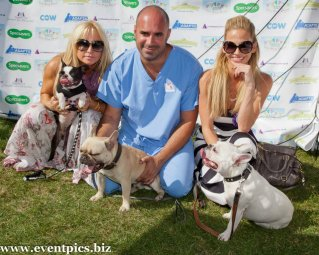 MARC WITH MEG MATTHEWS AND SARAH HARDING AT PUPAID, PRIMROSE HILL, PUPAID 2012 Photo Julia Claxton.