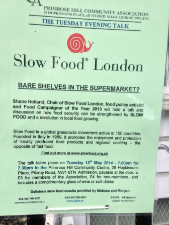 SLOW FOOD LONDON
