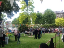 TRADITIONAL FUN ON CHALCOT SQUARE