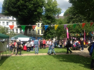 FUN ON CHALCOT SQUARE