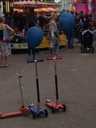 SCOOTERS AND BALLOONS