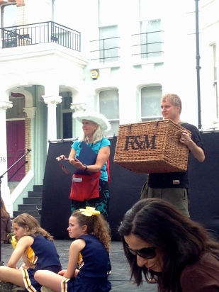 AUCION: THE FORTNUM'S HAMPR DONATED BY JOHN D WOOD