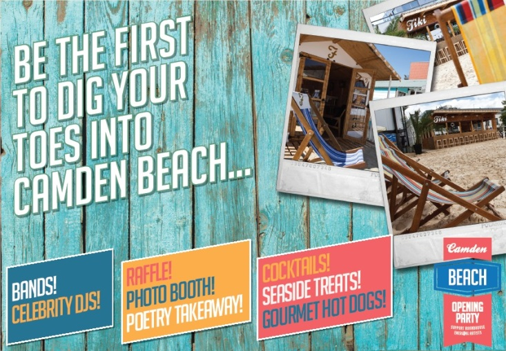 THE CAMDEN BEACH OPENING PARTY