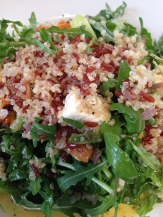 The Greenberry's couscous salad.