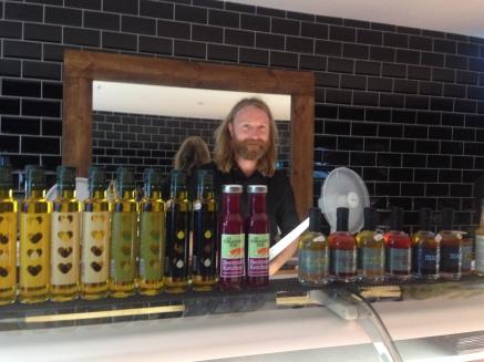 Jack O'Shea's butcher's shop finally opened
