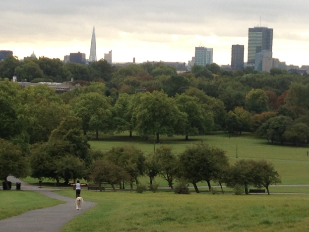 You'll always find runners hard at it in Primrose Hill, whatever the time of day.