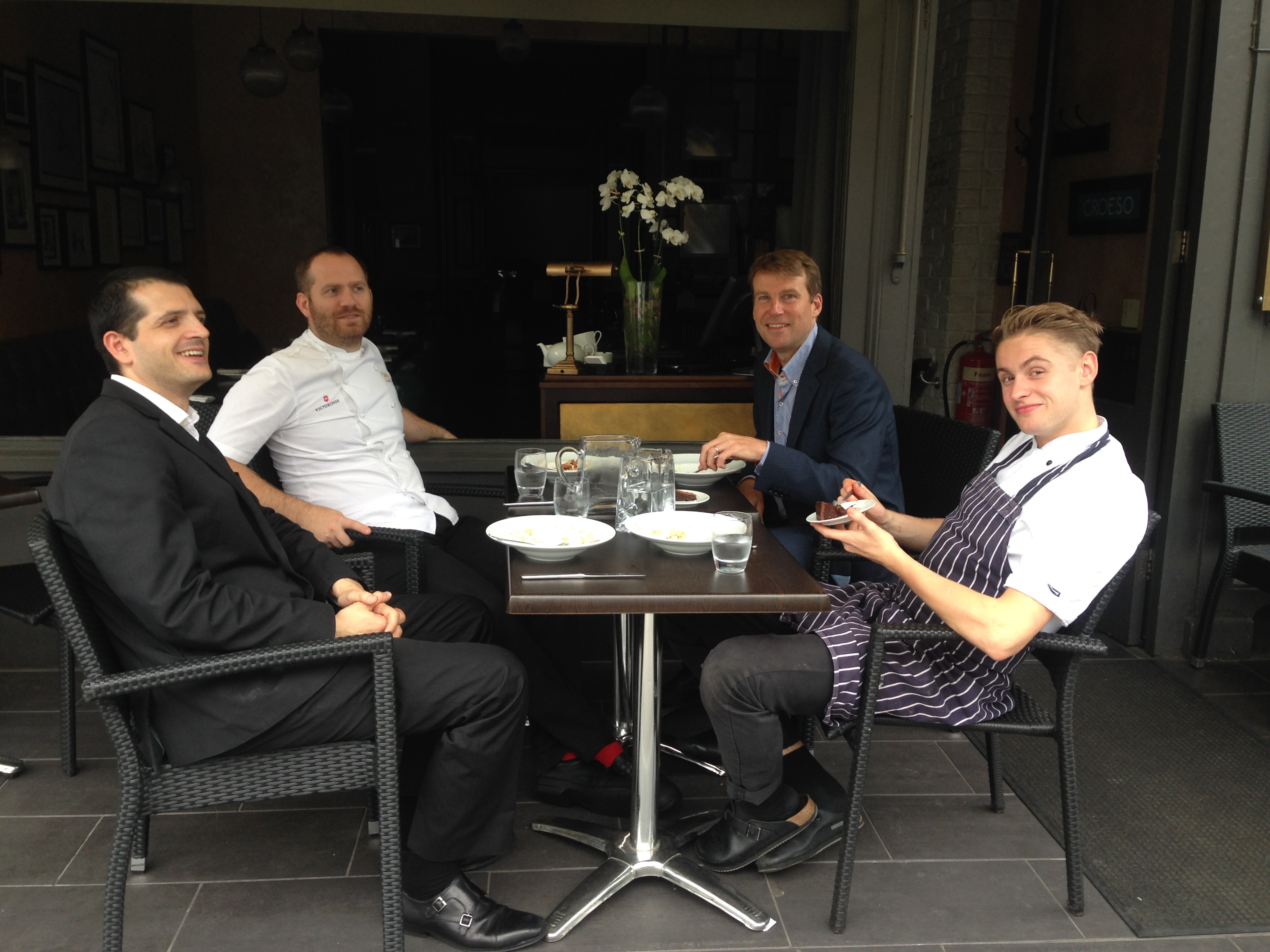 The primrose hill interview bryn williams chef patron of for Odette s restaurant month