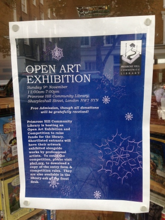 OPEN ART EXHIBITION AT THE LIBRARY