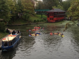 CANOISTS ON THE CANAL