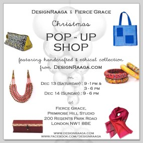DESIGN RAAGA & FIERCE GRACE POP UP SHOP