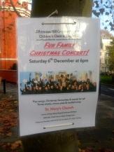 SATURDAY 6 DECEMBER: CHRISTMAS CONCERT, ST MARY'S CHURCH