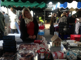 SWEET THINGS AT THE READY WITH CHRISTMAS TREATS