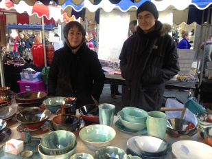 JADE GREEN CERAMICS WITH THIER BEAUTIFUL HAND-MADE POTTERY