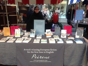 PEIRENE PRESS WITH THIER LOVELY TRANSLATED BOOKS