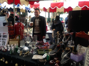 PHIL COWAN WITH HIS VINTAGE HOMEWARE