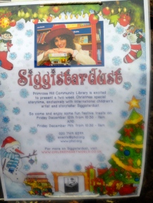 SIGGISTARDUST AT THE LIBRARY