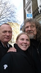 "ROBERT PLANT WITH JACK O""SHEA'S STAFF"