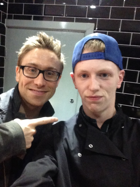 RUSSELL HOWARD WITH JACK O'SHEA'S LESLIE