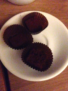 PETITS FOURS WITH COFFEE