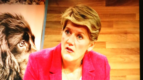 CLARE BALDING WAS HORRIFIED TO HEAR ABOUT PUPPY FARMING FROM MARC DURING MORE4'S CRUFTS COVERAGE