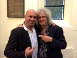 BRIAN MAY HAS BEEN AN ENTHUSIASTIC AND DEDICATED SUPPORTEROF PUPAID.