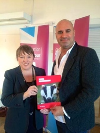 MARC HAS FOUND MARIA EAGLE'S SUPPORT TO BE INVALUABLE.