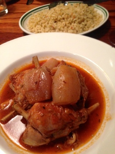 UNBELIEVABLY SOFT RABBIT, NOT AT ALL EASY TO ACHIEVE. PERFECT WITH RICE.