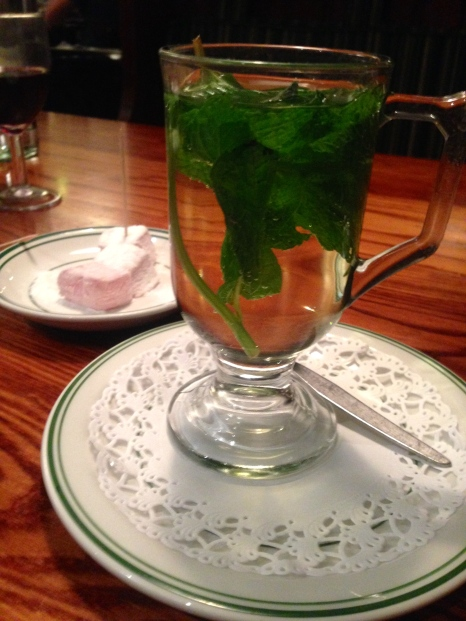 FRESH AND MINTY FRESH MINT TEA