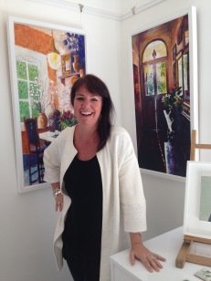 INGRID HASELTINE OF BESIDE THE WAVE GALLERY