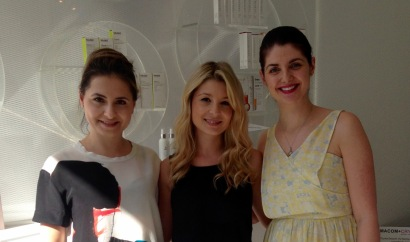 MARSHA, TANIA AND KRISTINA, FOUNDERS OF AESTHETICS LAB