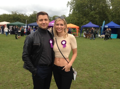RACHEL RILEY AND STRICTLY DANCER PASHA