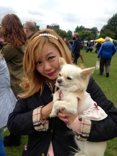 ANNA NAMIKI AND SUPERDOG MADEMOISELLE CHANEL