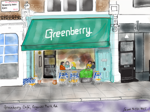 THE GREENBERRY BY THE SECRET ARTIST