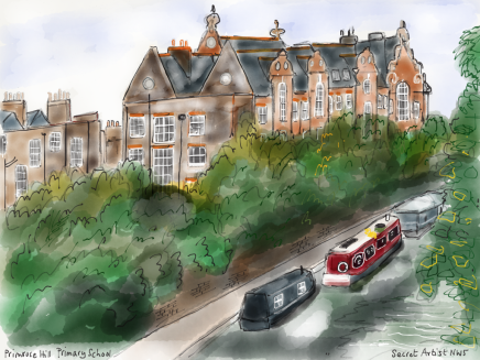 PRIMROSE HILL PRIMARY SCHOOL BY THE SECRET ARTIST