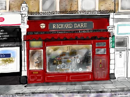 RICHARD DARE BY THE SECRET ARTIST