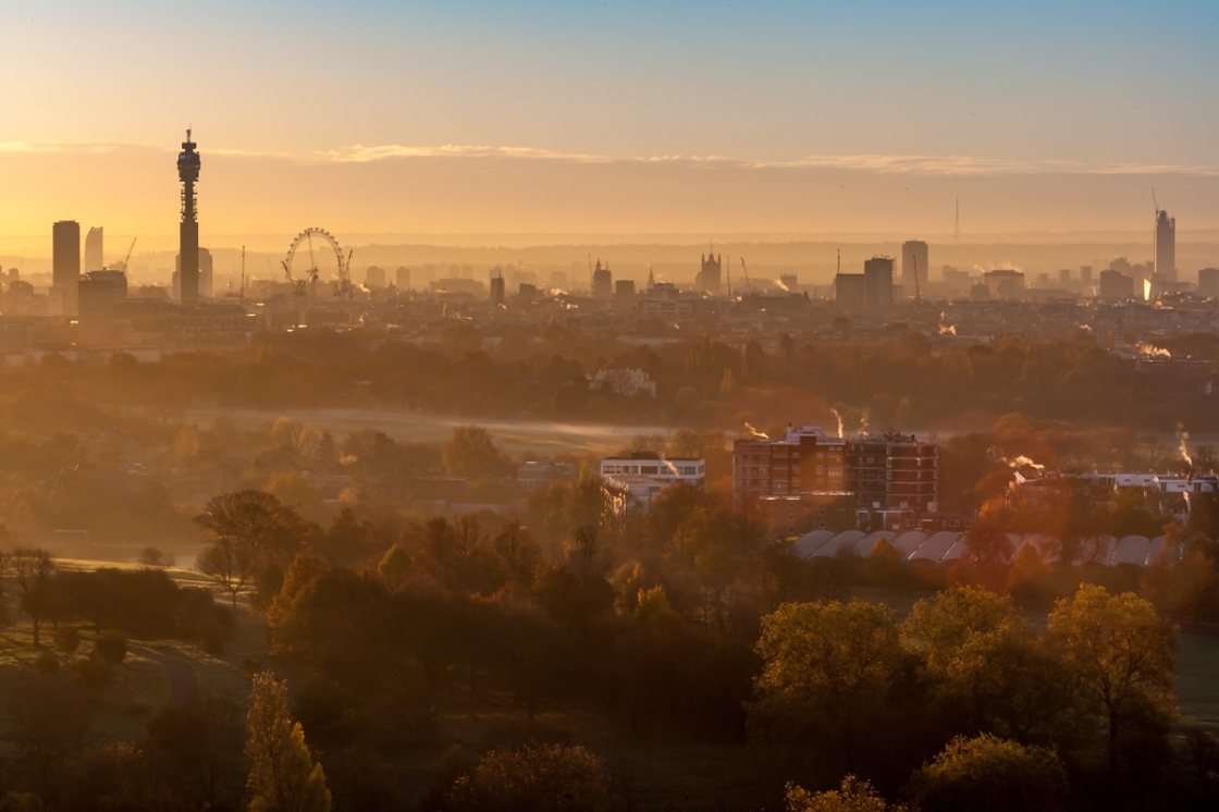 REGENTS PARK AND PRIMROSE HILL BY JAMES BURNS