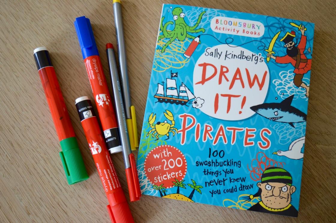 DRAW IT! PIRATES by SALLY KINDBERG
