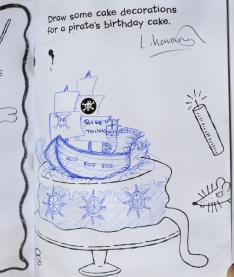 LAURA'S BEAUTIFUL SWEET THINGS CAKE