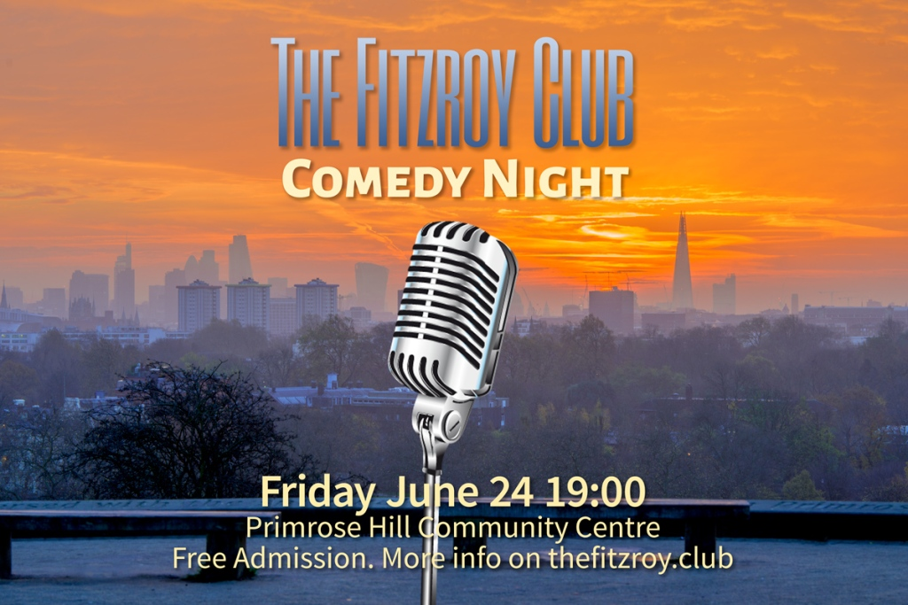 THE FITZROY CLUB OPEN-MIC COMEDY NIGHT