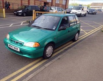 'TRUSTY JUSTY', THE 16 YEAR-OLD, £200 1.2L SUBARU JUSTY
