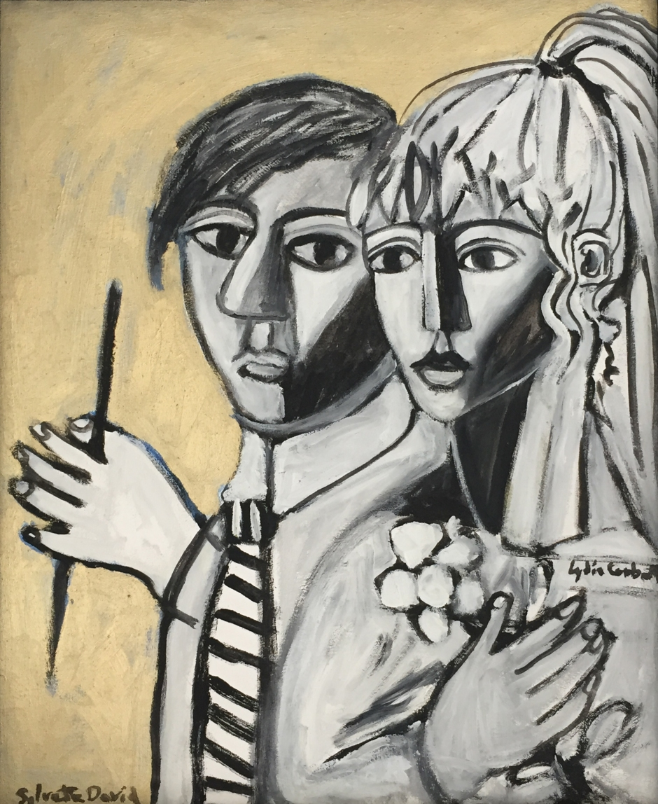 """Sylvette and Picasso, Young"" by Lydia Corbett"