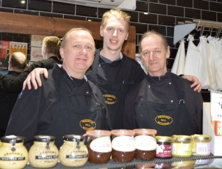 CHARLIE, LESLIE AND LES, OUR PRIMROSE HILL BUTCHERS