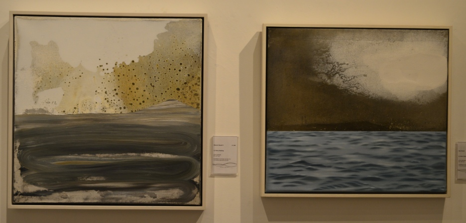 TWO OIL PAINTINGS BY KERRY HARDING, £1500 each